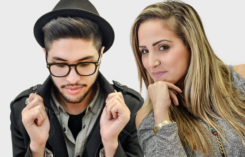 קארין קבסה ודניאל ציוני | צילום: רדיו חיפה